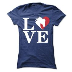 We Love Horse T Shirts, Hoodies. Check price ==► https://www.sunfrog.com/Pets/We-Love-Horse-Ladies.html?41382