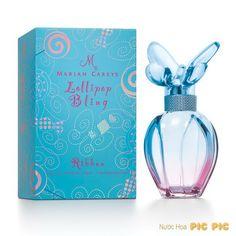 Mariah C. Lollipop Bling Ribbon EDP 100ml mang đến hương thơm hoa trái ngọt ngào, trẻ trung dành cho nữ.