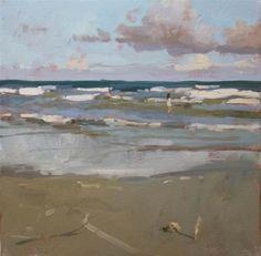 "Daily+Paintworks+-+""Spirit+Beach""+-+Original+Fine+Art+for+Sale+-+©+Randall+Cogburn"