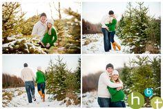 Winter couple/maternity  HBT photo blog: