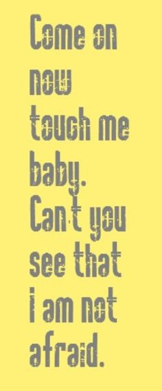 The Doors - Touch Me - song lyrics music lyrics songs song quotes