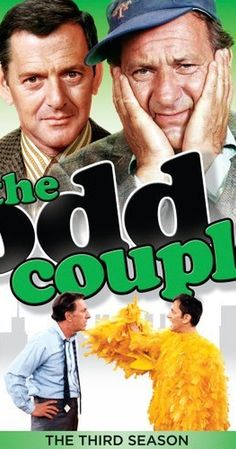 Created by Jerry Belson, Garry Marshall.  With Tony Randall, Jack Klugman, Al Molinaro, Penny Marshall. Two men, a neat freak and a slob separated from their wives, have to live together despite their differences.