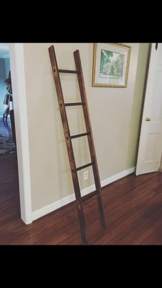 Blanket ladder, perfect for Cora's nursery