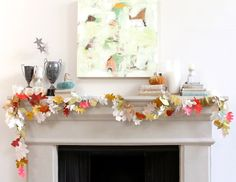 The Perfect Fall Garland