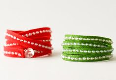 7 Wrap Bracelet Projects to Fill Your Wrists | AllFreeJewelryMaking.com