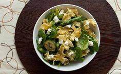 Lunch/Dinner: Asparagus Primavera calories/serving) serve with side salad Epicure Recipes, Lunch Recipes, Real Food Recipes, Dinner Recipes, Healthy Recipes, Lunch Menu, Dinner Menu, Vegetarian Menu, Fresh Asparagus