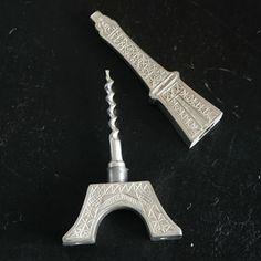Eiffel Tower Bottle Opener & Corkscrew | GeekAlerts