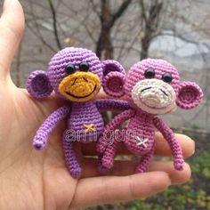 Patrón gratis amigurumi de mini mono – amigurumis y más