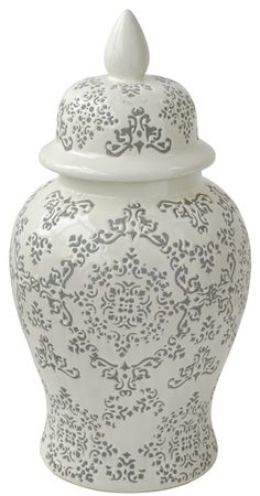 Chinoise Ginger Jar. Gorgeous - different to the usual blue & white.