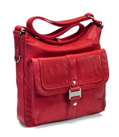 Ecco New Orleans red bag Red Bags, New Orleans, Satchel, Casual, Collection, Shopping, Color, Fashion, Moda