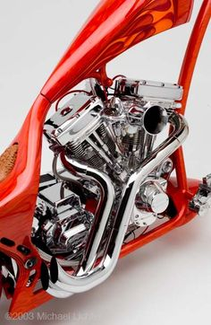 Epic Firetruck's Motor'sicle Motors ~ Thunder Cycle ~ Michael Lichter Photography ~
