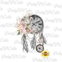 Your place to buy and sell all things handmade Dope Tattoos For Women, Tattoos For Women Half Sleeve, Tattoo Designs For Women, Neue Tattoos, Body Art Tattoos, Spine Tattoos, Skull Tattoos, Tattoo Drawings, Time Clock Tattoo