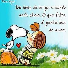 Então, vem cá que eu te mostro como é que faz!!! 🤗 Snoopy Love, Charlie Brown And Snoopy, Happy Week End, Snoopy Quotes, Happy Wishes, Peanuts Gang, Osho, True Love, Positivity