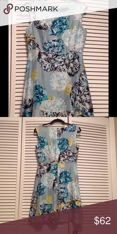 Summer dress J.Crew UK. 100%silk. Lining 100%polyester. J. Crew Dresses Midi