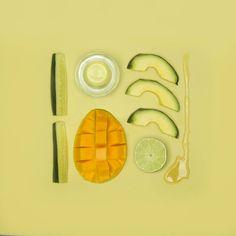 Pantone Smoothies: ricreare i colori Pantone con alimenti frullati
