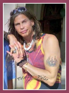 LOVIN' US SOME @IamStevenT TYLER HERE ON FACEBOOK/TOTALLY TYLER #LOVE  #SEXY  #STEVEN TYLER