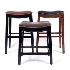 Cheap wooden bar stools, Buy Quality cafe bar stool directly from China bar stool Suppliers: Wooden Bar Stool Chair Leather Cushions Seat American Style Country Design Bar Furniture Cafe Bar Stool Frame Solid Wood 30 Inch Cheap Bar Stools, Cool Bar Stools, Wooden Bar Stools, Bar Stool Chairs, Cafe Chairs, Leather Chaise Lounge Chair, Leather Cushions, Leather Chairs, World Market Dining Chairs