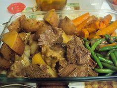 UPDATE: Made my first Crockpot Roast.  Followed directions exactly...fell apart with fork    Crock Pot Pot Roast