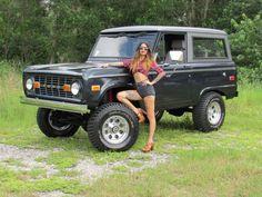 1973 Ford Bronco WAGON 4X4 SUV 4WD HD