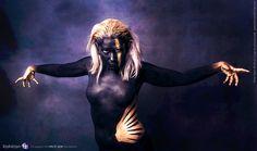 https://flic.kr/p/DaCuSu | Apokalypse | facebook : www.facebook.com/freespiritcrew website : www.freespiritcrew.com #Apokalypse #Free #Spirit #instinct #Savages #Sauvage #black #or #noir #dark #gold #inkedskin #body #art #marginal #tattoo #tatouage #makeup #mua #body #painting #faceprinting #chaos