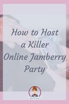 Tips on how to host a killer online Jamberry (or any direct sales style) party.  More tips at https://www.facebook.com/jamsandscones/