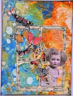 collage 01 | Flickr - Photo Sharing! { bflies & window; color contrast }