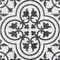 Aggrandize and enhance the value of the home with this MSI Amantus Encaustic Glazed Porcelain Floor and Wall Tile. Features a matte finish. Bathroom Flooring, Tile Flooring, Outdoor Flooring, Laminate Flooring, Carpet Tiles, Shower Floor, White Acrylics, Bathroom