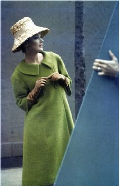 Photo by Saul Leiter, Feb. 1959, Harper's Bazaar.