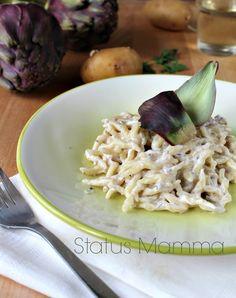 Trofie con pesto ai carciofi ricetta primo StatusMamma Giallozafferano foto blogGz blog verdure