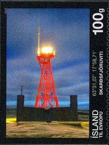 Lighthouses III - The Skarđsfjara lighthouse