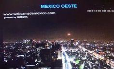 MÉXICO - Registro de um Enorme UFO no Vulcão Popocatepetl e Sobre a Cidade