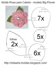 Discover thousands of images about Giant paper flower templates Felt Flower Template, Paper Flower Patterns, Leaf Template, Felt Patterns, Templates, Big Flowers, Felt Flowers, Fabric Flowers, Paper Flowers