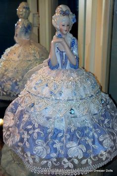 My goal is to create a beautiful, unique & collectible pincushion dresser doll that will be cherished for many, many years to come.