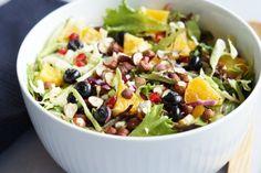Fruit Salad, Cobb Salad, Salads, Healthy Recipes, Healthy Food, Eat, Weight Loss, Christmas, Blog