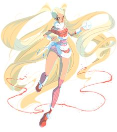 Stella Lovix by AkEshiba on DeviantArt Winx Club, Stella Art, Fairy Oak, Fanart, Magical Girl, Anime Art Girl, Cartoon Games, Character Design, Childhood