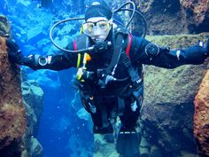 Silfra - sukellus mannerlaattojen väliin