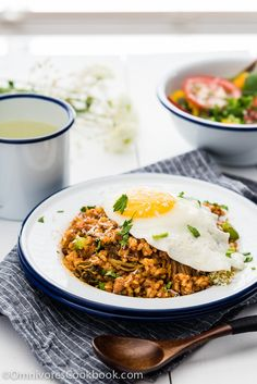 Fancy Kimchi Fried Rice - Use this flexible recipe to create delicious fried rice with whatever ingredients you have on hand in 10 minutes.