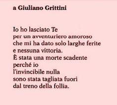 Alda Merini. A Giuliano Grittini
