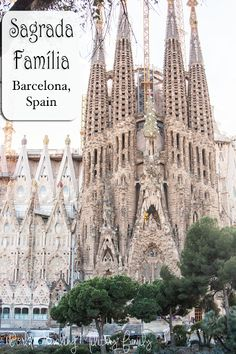 Sagrada Familia, Barcelona, Spain - World Traveling Military Family Barcelona Spain, Day Trip, Barcelona Cathedral, Travel Tips, Trips, Germany, Traveling, Military, Adventure