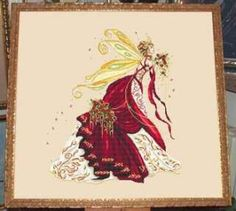 Free Counted Cross Stitch Charts | Fairy Spirit, Cross Stitch from Passione Ricamo: Arts, Crafts & Sewing