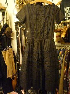 50s vintage lace dress