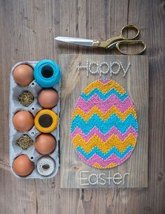 Wall Decor – Happy Easter Wall Decor – a unique product by Good-Lights on DaWanda