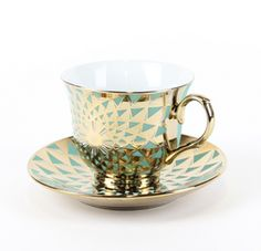 Serve tea on the most beautiful cups around... Moscow cup & saucer, $16, T2tea.com