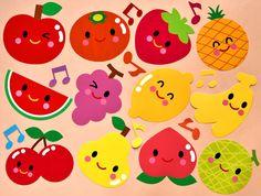 初めまして!壁面飾り工房と申します。この度は数あるページの中からこのページをご覧頂き、誠にありがとうございます。 果物が楽しく踊っている壁面飾りです!りんご、みかん、いちご、パイナップル、スイカ、ぶどう、レモン、バナナ、さくらんぼ、洋なし、もも、メロンが...