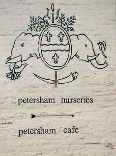 Shopper's Diary: Petersham Nurseries in Richmond, UK : Remodelista