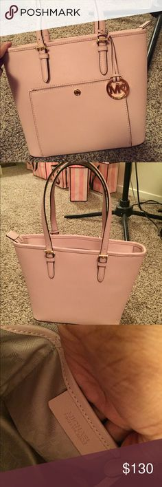NEW MICHAEL KORS TOTE!! Brand new! Color is Blossom! Comes with price tag, care booklet, tech friendly info tag! MICHAEL Michael Kors Bags Totes