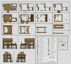 Castle blueprint pinterest minecraft castle legos and castles poppy cottage medium minecraft house blueprints by planetarymap malvernweather Images