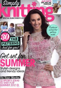 Библиотечка рукодельницы: Simply Knitting №95 2012