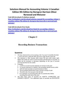 47 best test bank 2 images on pinterest solutions manual for accounting volume 1 canadian edition 9th edition by horngren harrison oliver no fandeluxe Images
