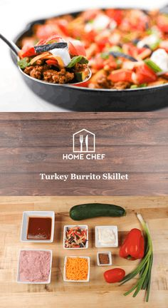 healthy turkey seasoned by deliciously zesty taco seasoning combines with fresh veggies and dollops of cheese and sour cream. Healthy Quick Meals Clean Eating, Clean Eating Recipes, Healthy Cooking, Healthy Recipes, Healthy Dishes, Side Recipes, Chef Recipes, Turkey Recipes, Cooking Recipes